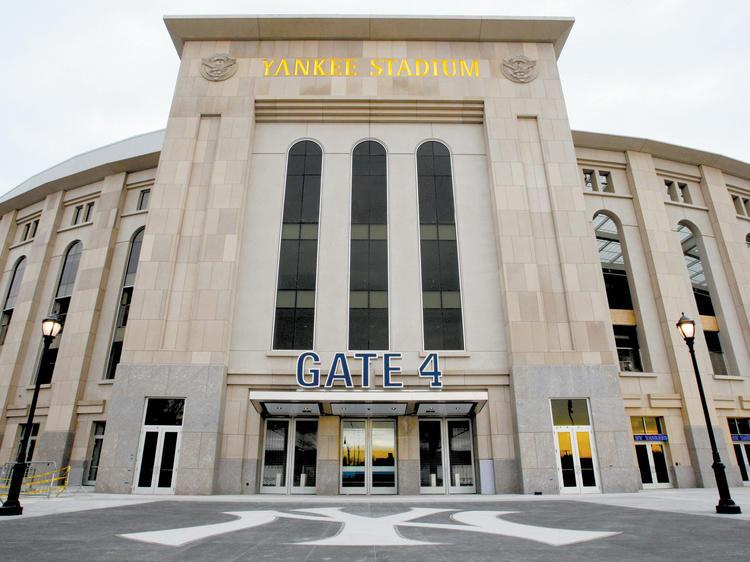 See a ball game at Yankee Stadium