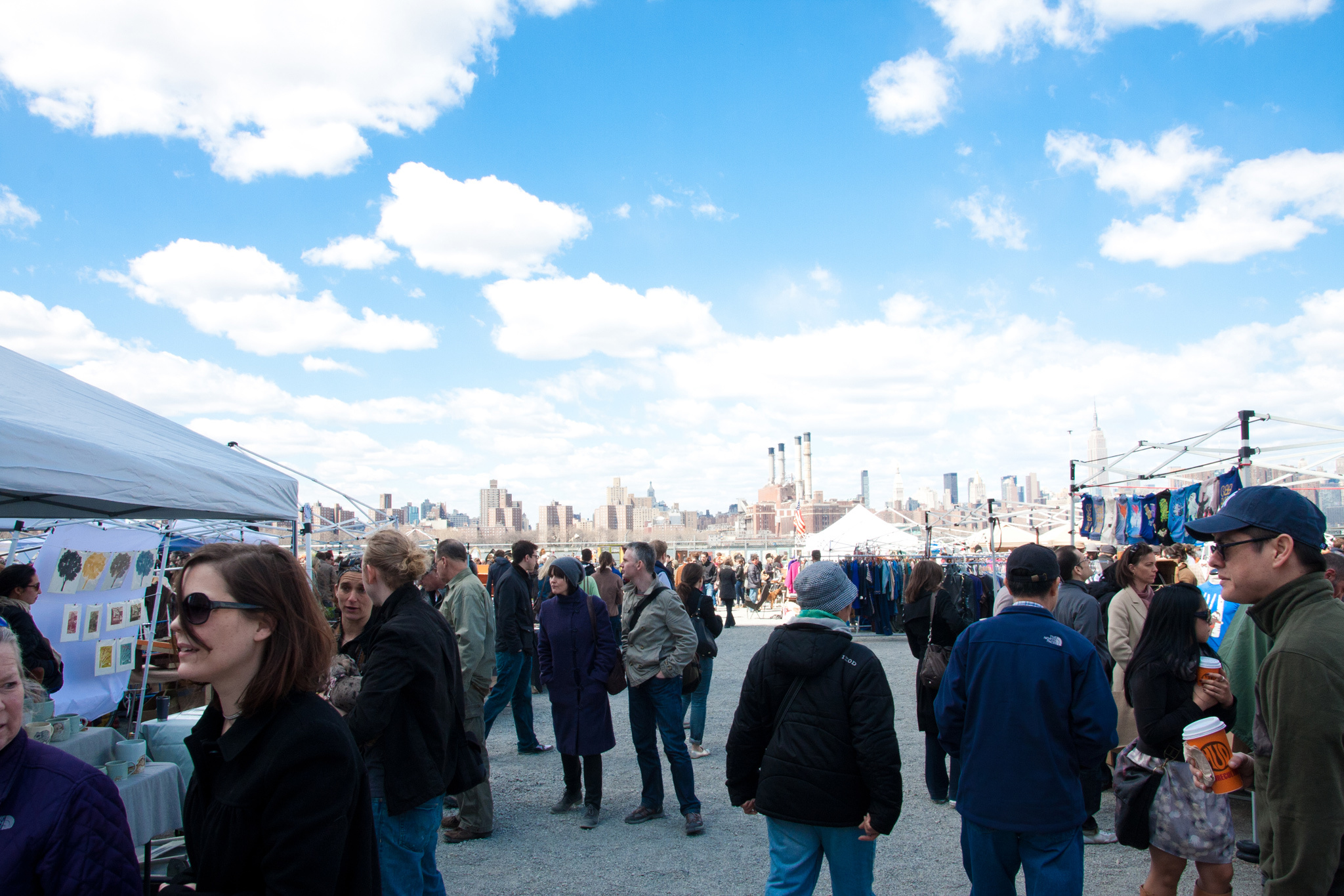 Browse the Brooklyn Flea