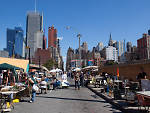 32. Chow down and shop at the Hell's Kitchen Flea Market