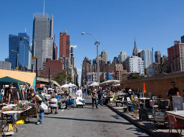 32. Chow down and shop at Hell's Kitchen Flea Market