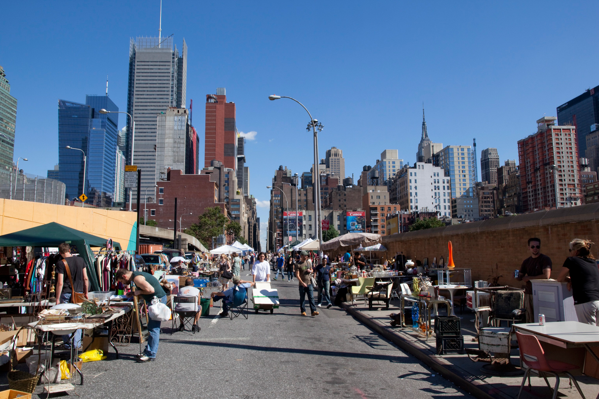 Chow Down And At Hell S Kitchen Flea Market