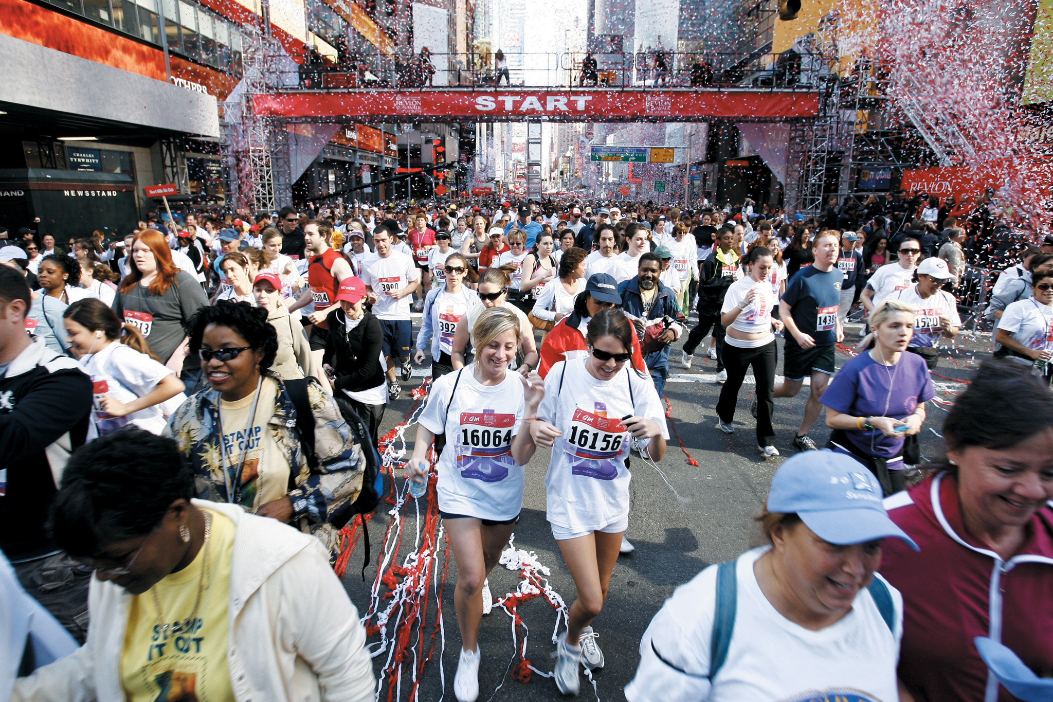 Pound the pavement to fight cancer