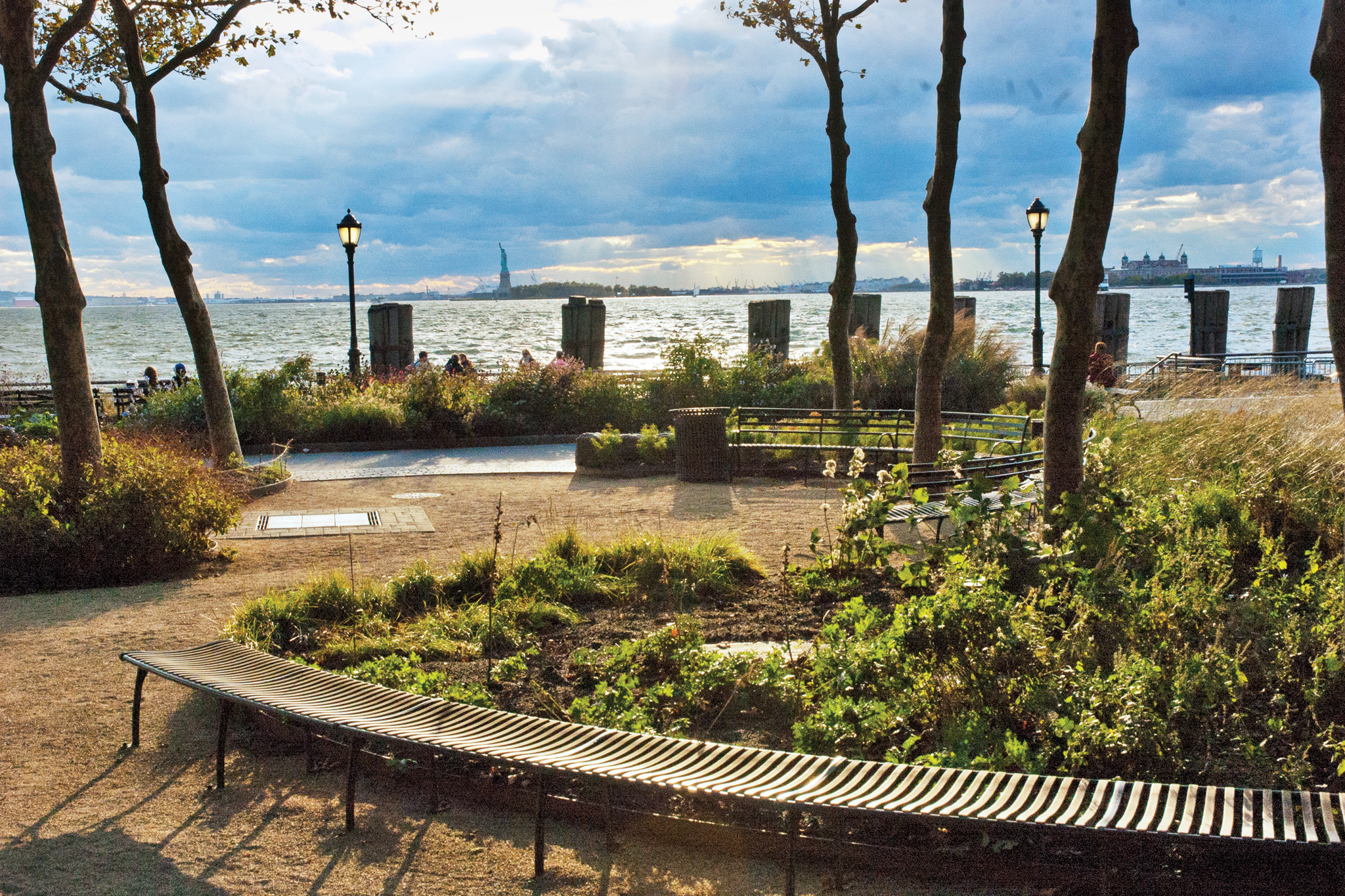 74. Commune with nature in Battery Park