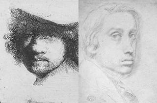 """""""Rembrandt and Degas: Portrait of the Artist as a Young Man"""""""