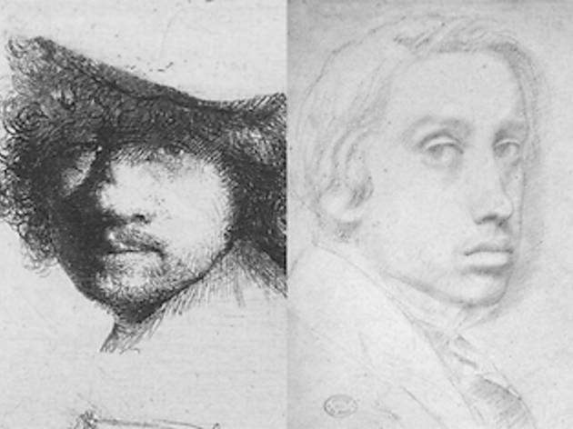 """Rembrandt and Degas: Portrait of the Artist as a Young Man"""