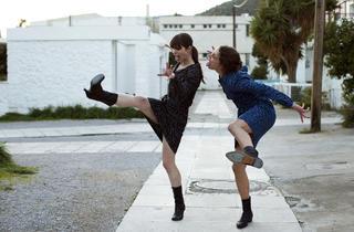 Evangelia Randou, left, and Ariane Labed in Attenberg