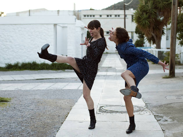 Evangelia Randou, left, and Ariane Labed in Attenberg