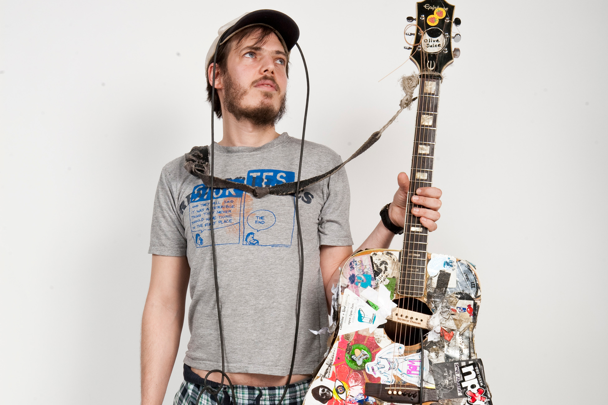 """Streets of New York"" and ""New York's All Right if You Like Saxophones"" by Jeffrey Lewis"