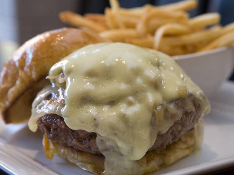 Original Burgers at 5 Napkin Burger