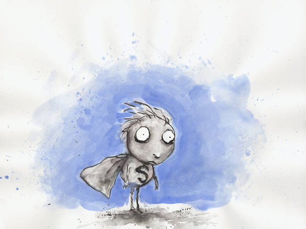 (Tim Burton, 'The Melancholy Death of Oyster Boy and Other Stories' / Collection privée © 2011 Tim Burton)
