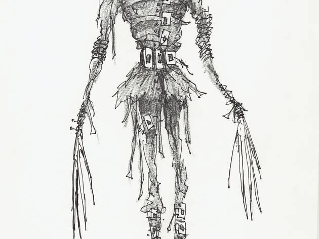 (Tim Burton, 'Sans titre (Edward aux mains d'argent)', 1990 / Collection privée © 2011 Tim Burton)