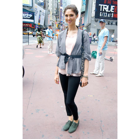 Street fashion: Times Square