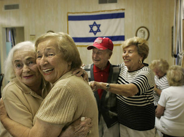 OLD JOY Elderly vacationers find heaven on the dance floor.