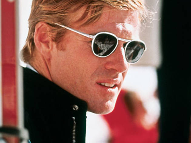 MADE IN THE SHADES Redford goes for personal best.