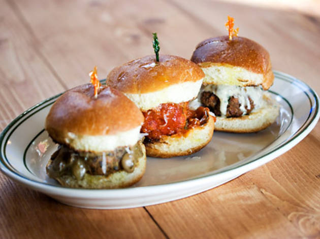 The Meatball Shop pop-up