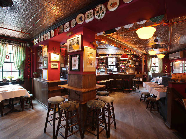 The coziest restaurants and bars in NYC