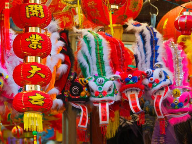 Chinese New Year (Photograph: Steve Grossman)