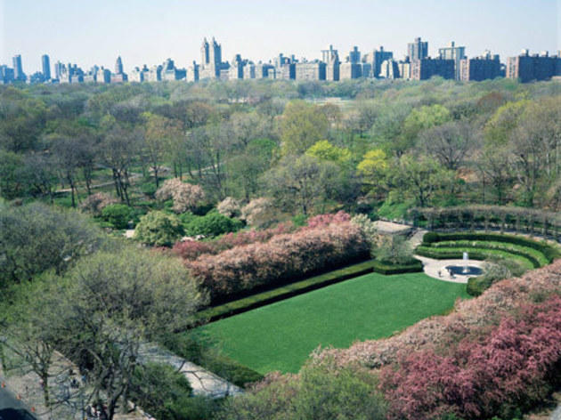 Central Park's Conservatory Garden