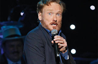 June 1-2-Conan O'Brien's Legally Prohibited from Being Funny on Television tour