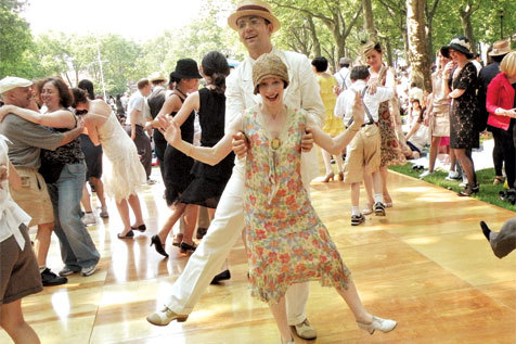 Jazz Age Lawn Party takes over Governors Island