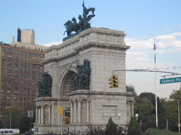 Begin your journey at Grand Army Plaza