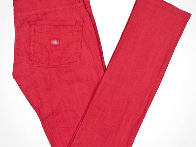 Dickies Girl pull-on legging jeans, $25, at dickiesgirl.com