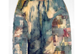 JF & Son water color-inspired paneled skirt, $96 (was $128)