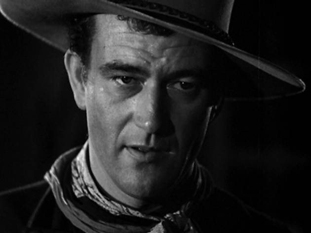 LORD LOVE A DUKE Wayne is ready for his close-up.