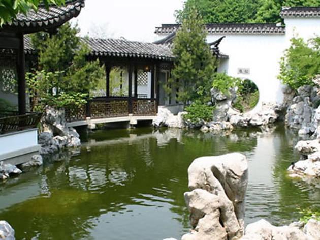 Staten Island Botanical Gardens in Snug Harbor