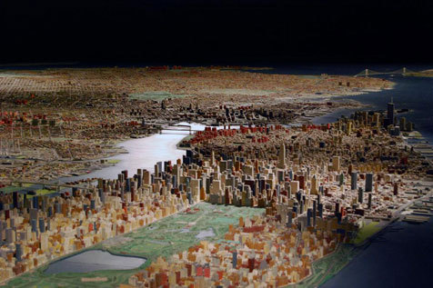 See NYC in miniature at the Queens Museum of Art