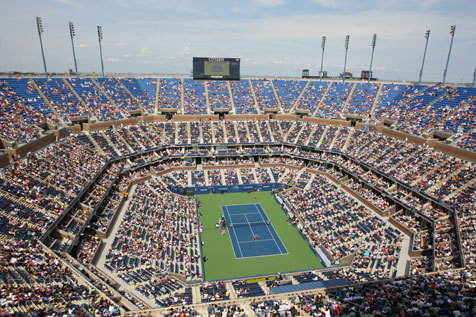 Plug into the electric atmosphere at the 2013 US Open
