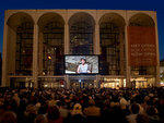 The Met gears up for the fall season with Metropolitan Opera Summer HD Festival, screening some of their best performances from the past three years on the front of the opera house at Lincoln Center.