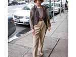 "Loretta Goldstein, 74, retired. Spotted on Third Ave between 32nd and 33rd Sts.""I love wearing earth-toned colors. I'm tailored and always well put-together, I'd like to think."""