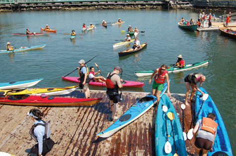 City of Water Day Festival: kayaks