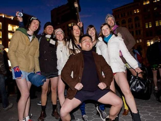 2010 No Pants Subway Ride