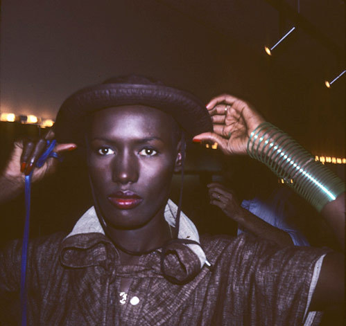 """Pull Up to the Bumper"" by Grace Jones"