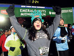 New Year's Eve in New York: Emerald Nuts Midnight Run