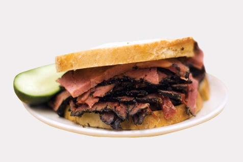 Chow down on an old New York classic—Katz's pastrami sandwich