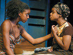 1. Condola Rashad (left) and Quincy Tyler Bernstine in Ruined. Photograph: Joan Marcus