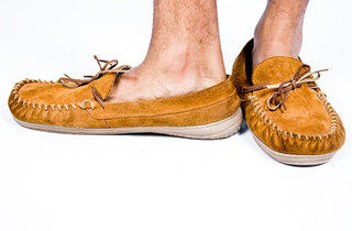 These Route 66 moccasins are another Kmart find