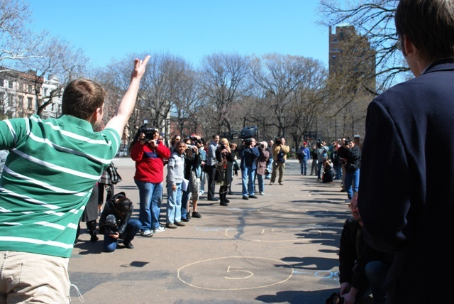 Unemployment Olympics in Tompkins Square Park (2009)