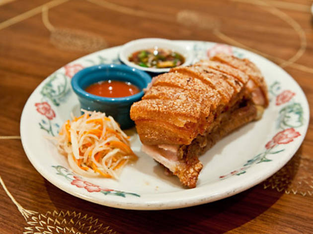 Fried pork belly