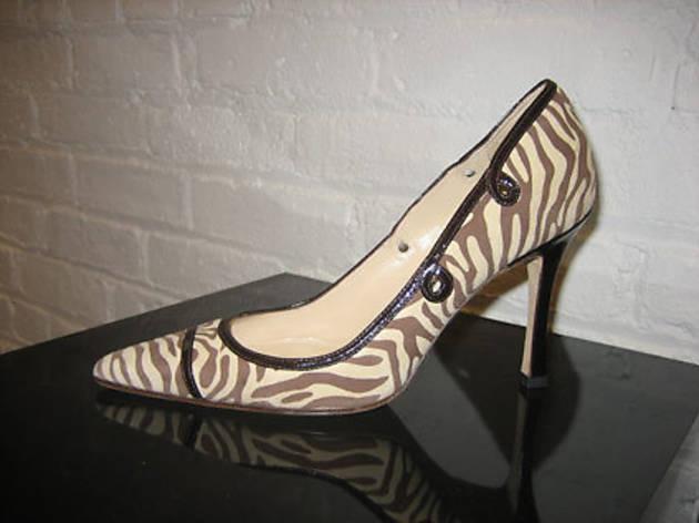 Vanessa Noel bridal shoe sale