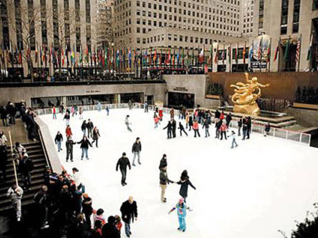 Hit the ice at Rockefeller Center