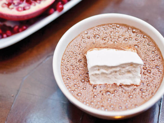 Enjoy a multitude of hot cocoas at City Bakery's Annual Hot Chocolate Festival