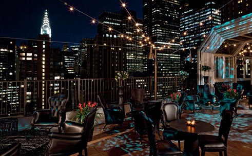 Get high on a rooftop bar