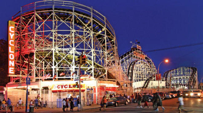 Coney Island attractions