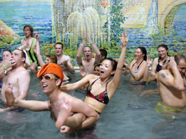 Steamy Valentine's Night at the Russian Baths