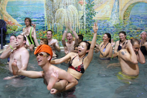 For the free spirit: Gemini & Scorpio's Steamy Valentine's Night at the Russian Baths
