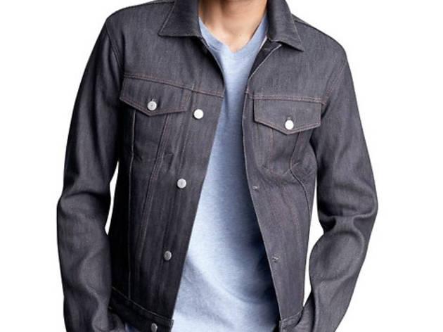 Gap jean jacket, $88, at Gap, locations throughout the city; visit gap.com